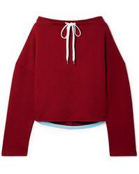 Marni - Oversized Cotton-jersey Sweatshirt - Lyst