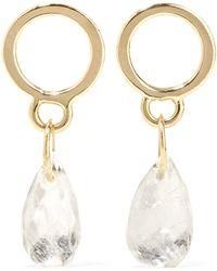 Melissa Joy Manning - 14-karat Gold Moonstone Earrings - Lyst