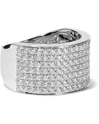 Anita Ko - Marlow 18-karat White Gold Diamond Ring - Lyst