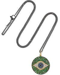 Ileana Makri - Dawn 18-karat Gold Multi-stone Necklace - Lyst