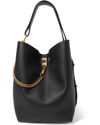 e1386f23d773 Givenchy - Gv Bucket Textured-leather And Suede Shoulder Bag - Lyst