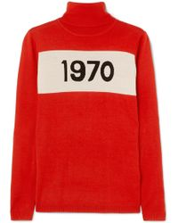 Bella Freud - 1970 Wool Turtleneck Jumper - Lyst