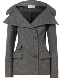 Antonio Berardi - Wool-blend Felt Jacket - Lyst