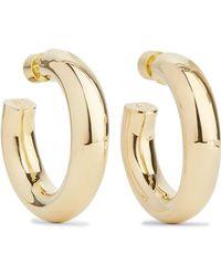 Jennifer Fisher - Mini Jamma Gold-plated Hoop Earrings - Lyst