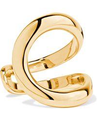 ana khouri mirian 18karat gold ring lyst