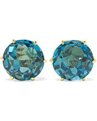 Ippolita - Rock Candy 18-karat Gold Topaz Earrings - Lyst