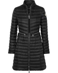Moncler - Quilted Shell Down Coat - Lyst