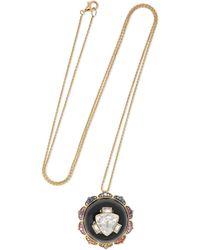 Noor Fares - Manipura 18-karat Gold Multi-stone Necklace - Lyst