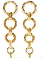 Laura Lombardi - Cambia Gold-tone Earrings - Lyst