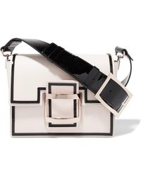 Roger Vivier - Leather Shoulder Bag - Lyst
