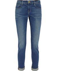 FRAME - Le Garcon Schmale Boyfriend-jeans - Lyst