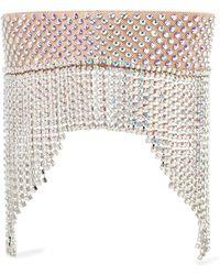 Gucci - Fringed Crystal-embellished Headband - Lyst