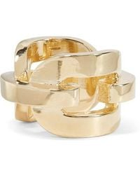 Jennifer Fisher - Chain Link Gold-plated Ring - Lyst