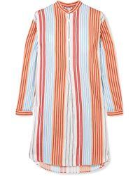 Paul & Joe - Striped Poplin Shirt - Lyst