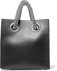 Alexander Wang - Genesis Shopper Leather Tote - Lyst