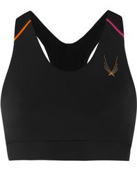 Lucas Hugh - Kubrick Paneled Stretch Sports Bra - Lyst