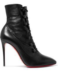 Christian Louboutin - French Tutu 100 Ankle Boots Aus Leder - Lyst