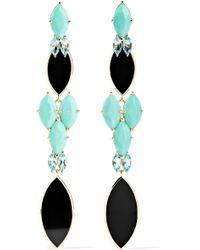 Ippolita - Polished Rock Candy 18-karat Gold Multi-stone Earrings - Lyst