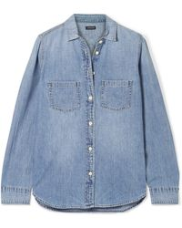 J.Crew - Everyday Cotton-chambray Shirt - Lyst