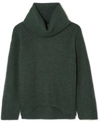 J.Crew - Ana Ribbed-knit Turtleneck Jumper - Lyst