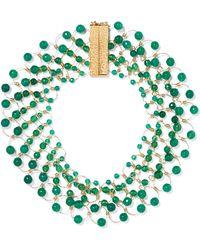 Rosantica - Universo Gold-tone Quartz Necklace - Lyst