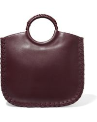 Ulla Johnson - Amaia Whipstitched Leather Tote - Lyst