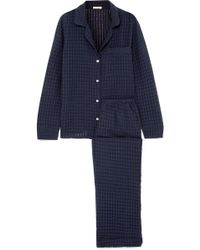 Eberjey - Paz Textured Cotton-gauze Pyjama Set - Lyst