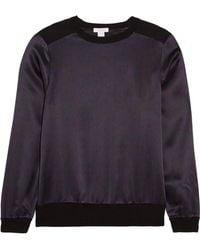 Eres - Vibe Cashmere And Printed Silk-satin Pyjama Top - Lyst