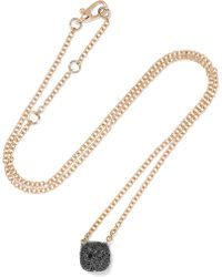 Pomellato | Nudo 18-karat Rose Gold Diamond Necklace | Lyst