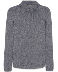 Golden Goose Deluxe Brand - Gardena Gathered Lurex Turtleneck Sweater - Lyst