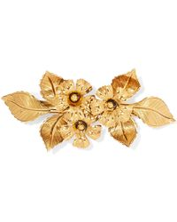 Jennifer Behr - Gold-tone Hairclip Gold One Size - Lyst