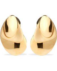 Charlotte Chesnais - Gold-dipped Earrings - Lyst