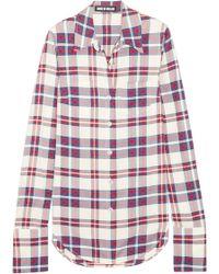 House of Holland - Tartan Twill Shirt - Lyst