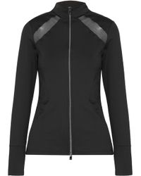 Heroine Sport - Studio Mesh-paneled Stretch Jacket - Lyst