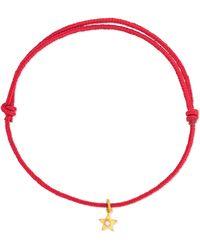 Marie-hélène De Taillac - 18-karat Gold Diamond Bracelet - Lyst