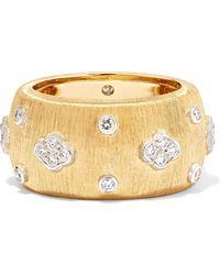 Buccellati - Macri Eternelle 18-karat Gold Diamond Ring - Lyst