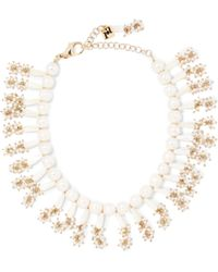 Rosantica - Amore Gold-tone Pearl Necklace - Lyst