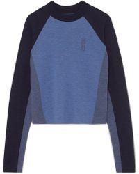 LNDR - Snug Color-block Merino Wool Jumper - Lyst