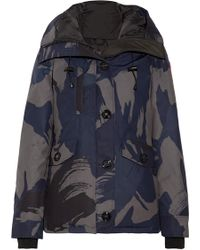 Canada Goose - Rideau Camouflage-print Down Parka - Lyst