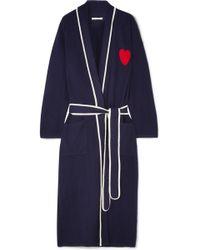 Chinti & Parker - Heart Intarsia Cashmere Robe - Lyst