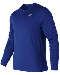 New Balance - Accelerate Long Sleeve - Lyst