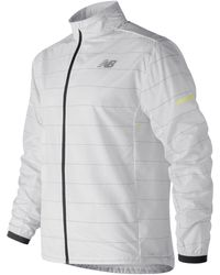 New Balance - Reflective Packable Jacket - Lyst