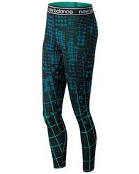 New Balance - Printed Accelerate Tight - Lyst