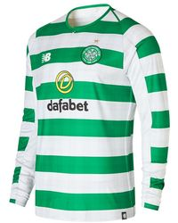 New Balance - Celtic FC Home Long Sleeve Jersey Schuhe - Lyst