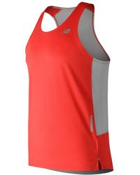 New Balance - NB Ice 2.0 Singlet - Lyst