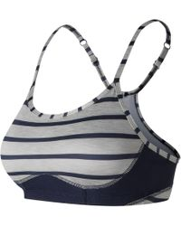 New Balance - Printed Nb Hero Bra - Lyst