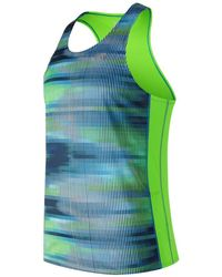 New Balance - Accelerate Graphic Singlet - Lyst