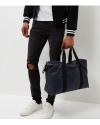 New Look - Navy Holdall Bag - Lyst
