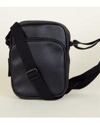 New Look - Black Cross Body Pouch Bag - Lyst