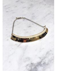 Quarry | Hirshhorn Small Brass Collar | Lyst